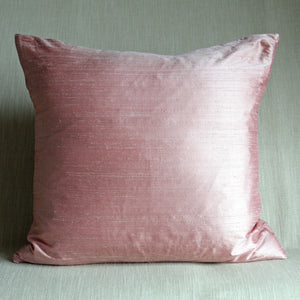 Powder pink silk