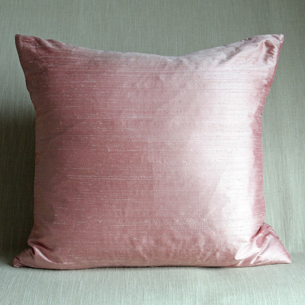 Powder pink silk - The Glasgow Guild