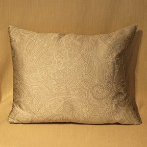 Embossed Paisley Pattern Silk