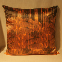 Load image into Gallery viewer, Screen printed cushion by Glasgow artist Ciaran Moore