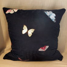 Load image into Gallery viewer, Embroidered Silk Butterflies