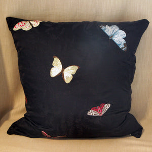 Embroidered Silk Butterflies - The Glasgow Guild