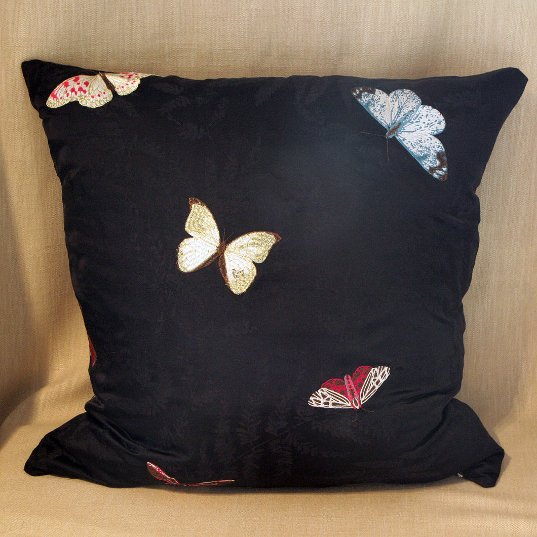 Embroidered Silk Butterflies