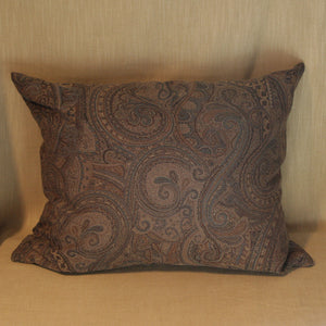 Woven wool mix paisley - The Glasgow Guild