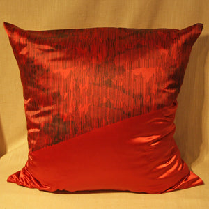 Screen printed cushion by Glasgow artist Ciaran Moore - The Glasgow Guild