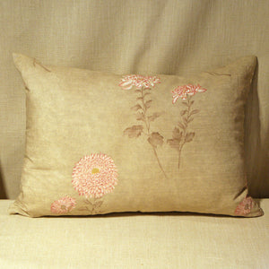 Printed linen floral - The Glasgow Guild