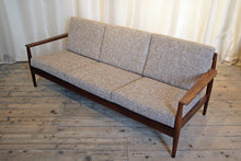 Load image into Gallery viewer, Danish Mid-Century Three Seater Sofa in Italian Fabric - The Glasgow Guild