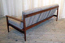 Load image into Gallery viewer, Danish Mid-Century Three Seater Sofa in Italian Fabric