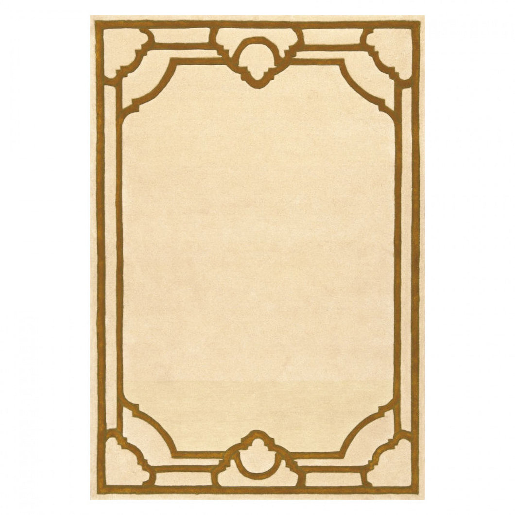 Tapis Medicis Beige Gold - The Glasgow Guild