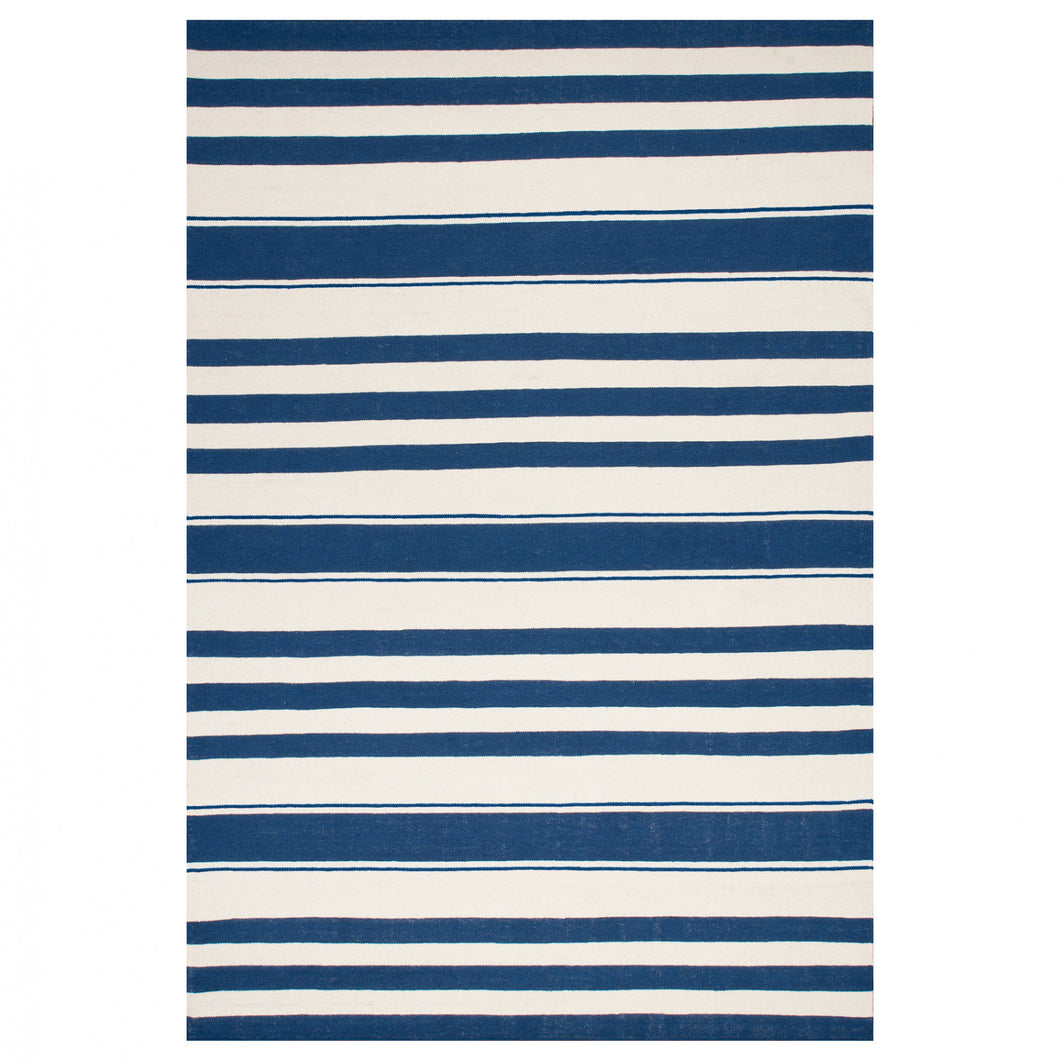 Tapis Littoral Navy Blue Large - The Glasgow Guild