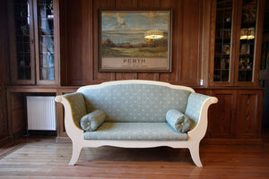 A Gustavian Style Sofa - The Glasgow Guild