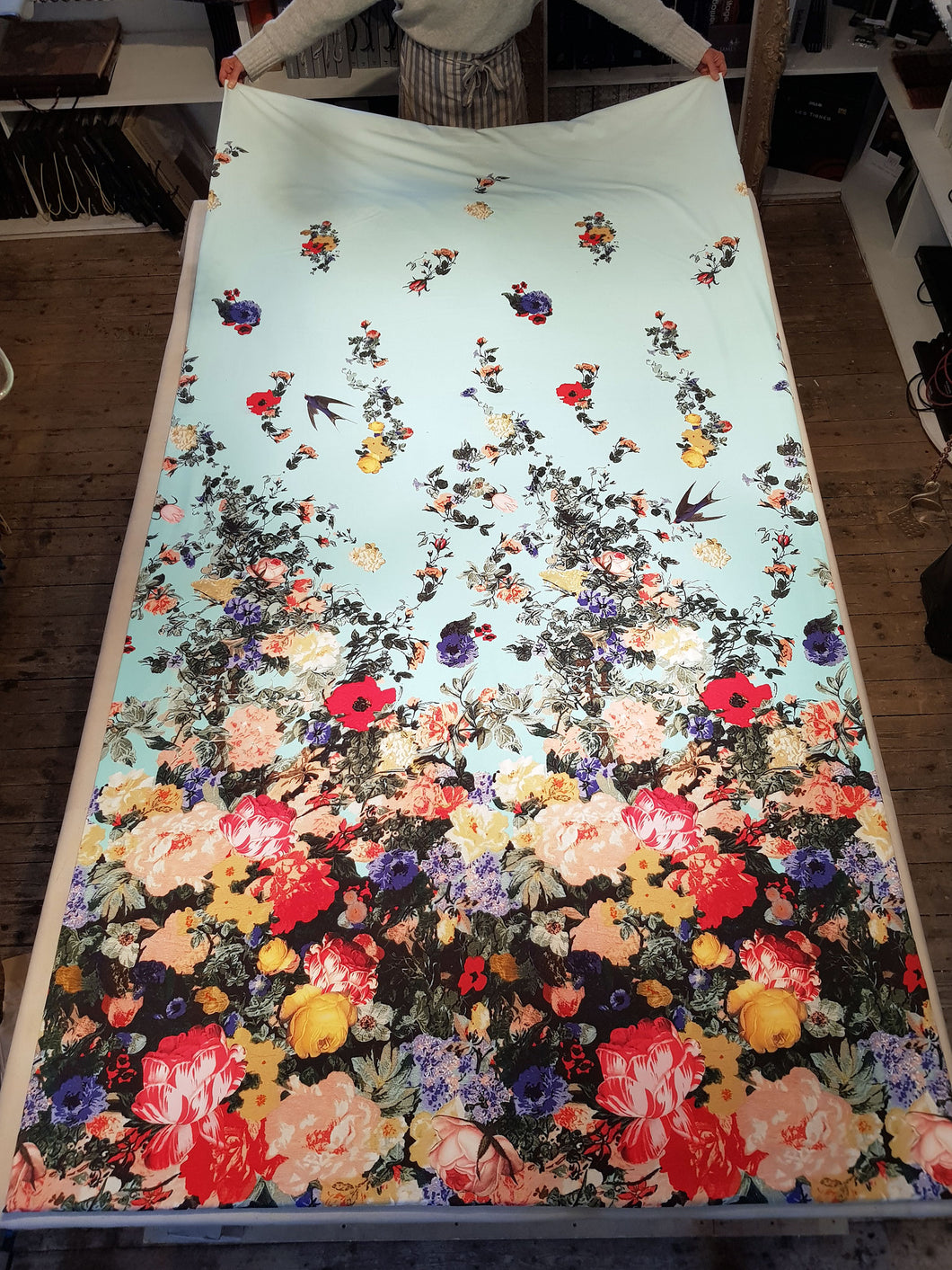 Christian Lacroix fabric wall hanging