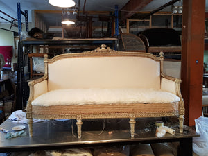 A Louis XVI sofa - The Glasgow Guild