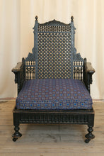 Load image into Gallery viewer, Liberty London Moorish Style Throne Armchair c.1890