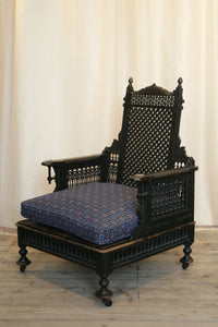 Liberty London Moorish Style Throne Armchair c.1890