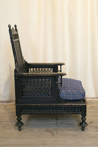 Liberty London Moorish Style Throne Armchair c.1890 - The Glasgow Guild