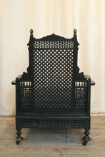 Load image into Gallery viewer, Liberty London Moorish Style Throne Armchair c.1890 - The Glasgow Guild