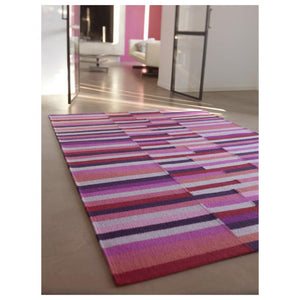 Tapis Colorama Pink - The Glasgow Guild