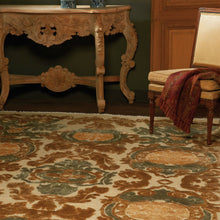 Load image into Gallery viewer, Tapis Amboise Blue & Gold