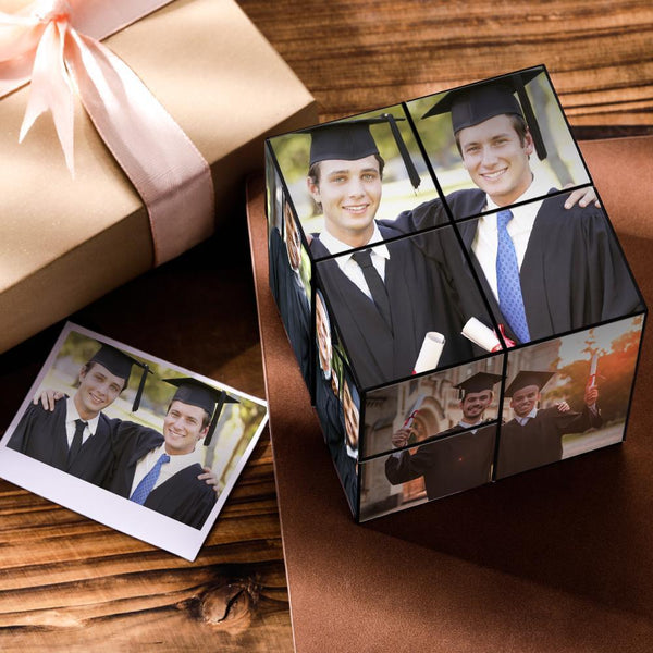 Custom DIY Magic Folding Photo Rubik's Cube | 2020 Graduation Gifts