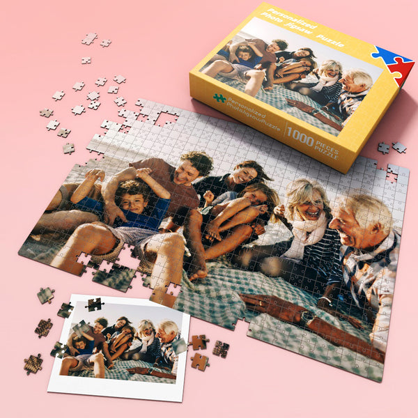 Custom Picture Jigsaw Puzzle Best Gift for Stay-at-home 35-1000 pieces | Happy Father's Day