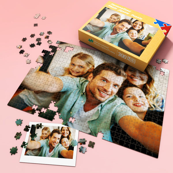 Custom Photo Jigsaw Puzzle Best Gift for Stay-at-home 35-1000 pieces | Father's Gift
