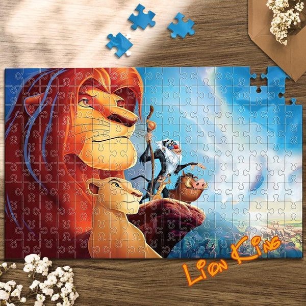 Jigsaw Puzzle Disney Funny Story-Lion King #2-35-1000 pcs