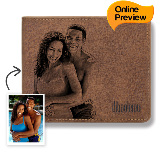 Custom Photo Wallet (Design Online & Preview)