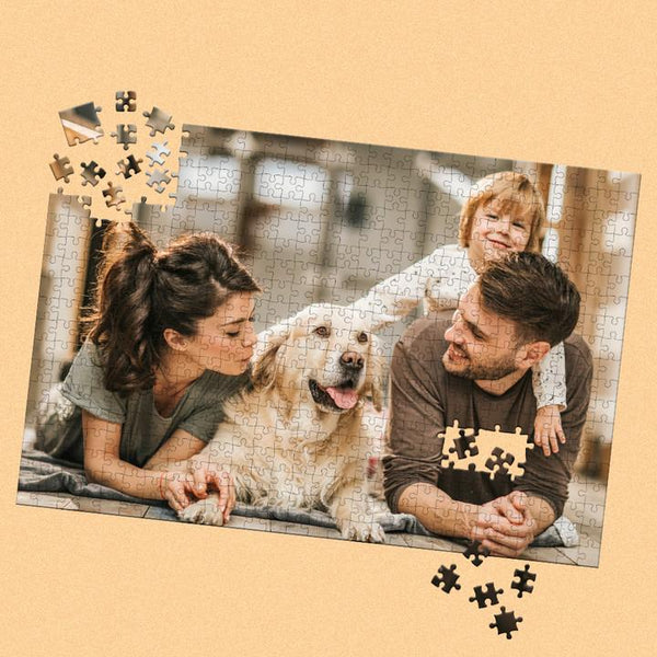 Custom Photo Jigsaw Puzzle Best Indoor Games for Dad 35-1000 pieces