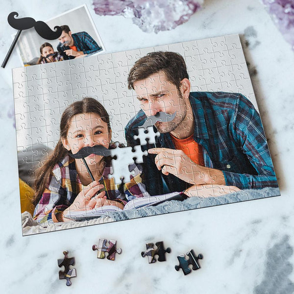Custom Photo Jigsaw Puzzle Best Indoor Games Father's Day Gift 35-1000 pieces
