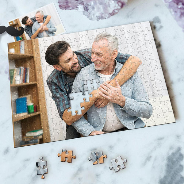 Custom Photo Jigsaw Puzzle Best Indoor Games World's Best Dad 35-1000 pieces