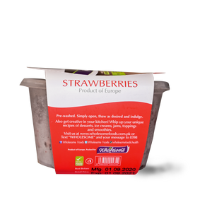 Wholesome Strawberries (frozen) 175g