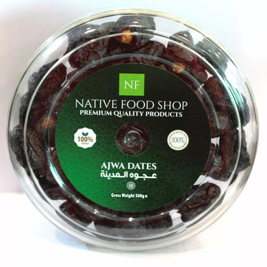Ajwa Dates 500g - TAYYIB - Native Food - Lahore