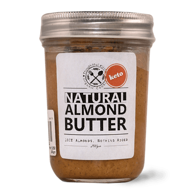 Almond Butter (Unsweetened) 200g - TAYYIB - Thoughtful Kitchen - Lahore