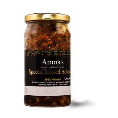 AN Mixed Achaar 250g - TAYYIB - Amna's Natural - Lahore