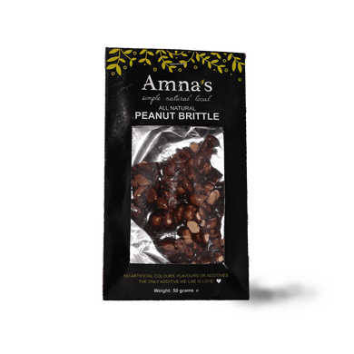AN Peanut Brittle 50g - TAYYIB - Amna's Natural - Lahore