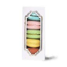 Load image into Gallery viewer, Assorted Macaron Box - TAYYIB - Cocoa and Cheese - Lahore