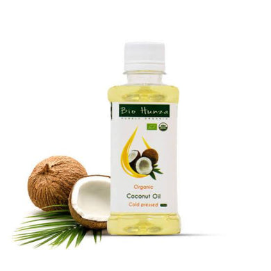 Bio Hunza Coconut Oil (local) 235ml - TAYYIB - Bio Hunza - Lahore
