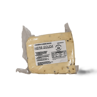 Farmers Herb Gouda 250g - TAYYIB - Farmer's Cheese Making - Lahore