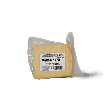Farmers Parmesano Cheese 250g - TAYYIB - Farmer's Cheese Making - Lahore