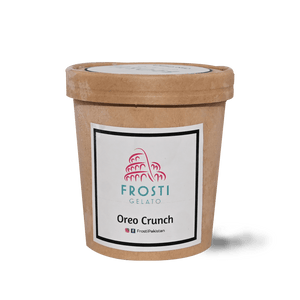 Frosti Oreo Crunch Gelato - TAYYIB - magic foods enterprises - Lahore
