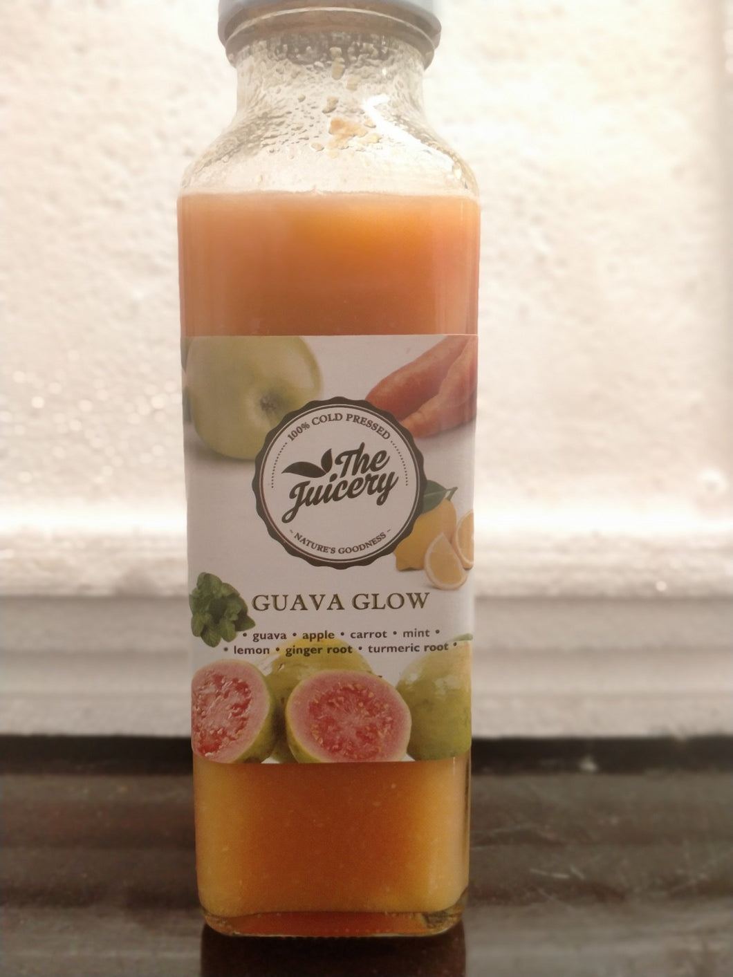Guava Glow 300ml - TAYYIB - The Juicery - Lahore