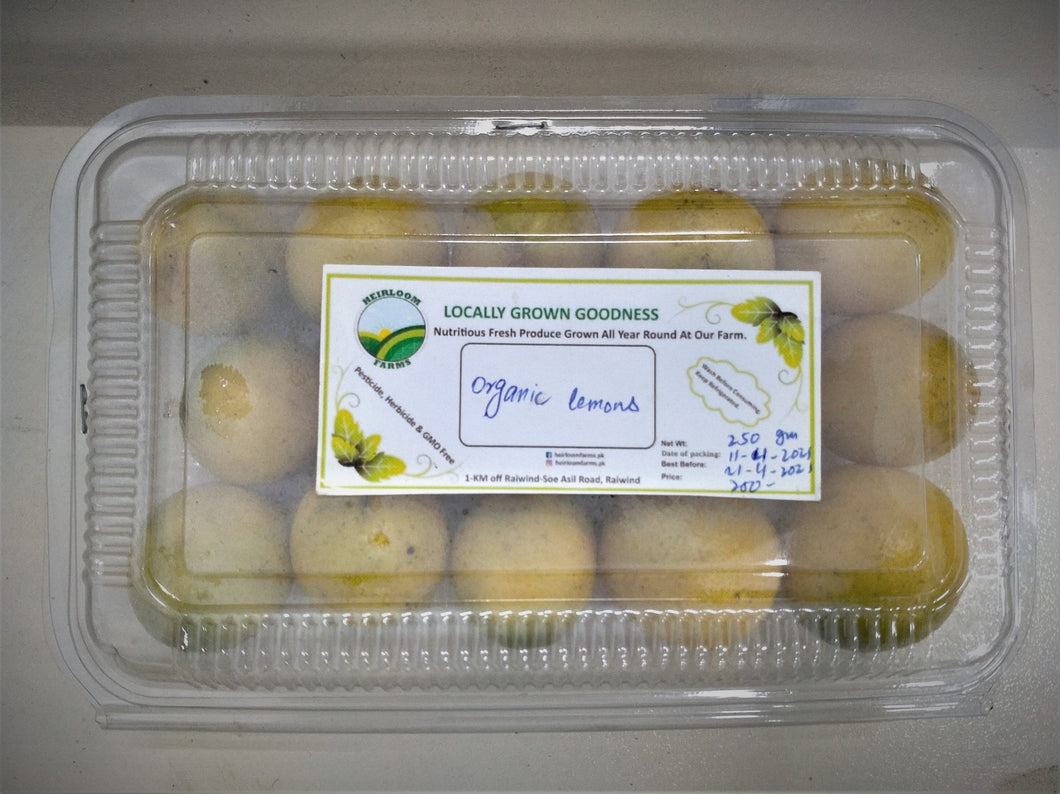 Heirloom Organic Lemon 250g - TAYYIB - Heirloom - Lahore