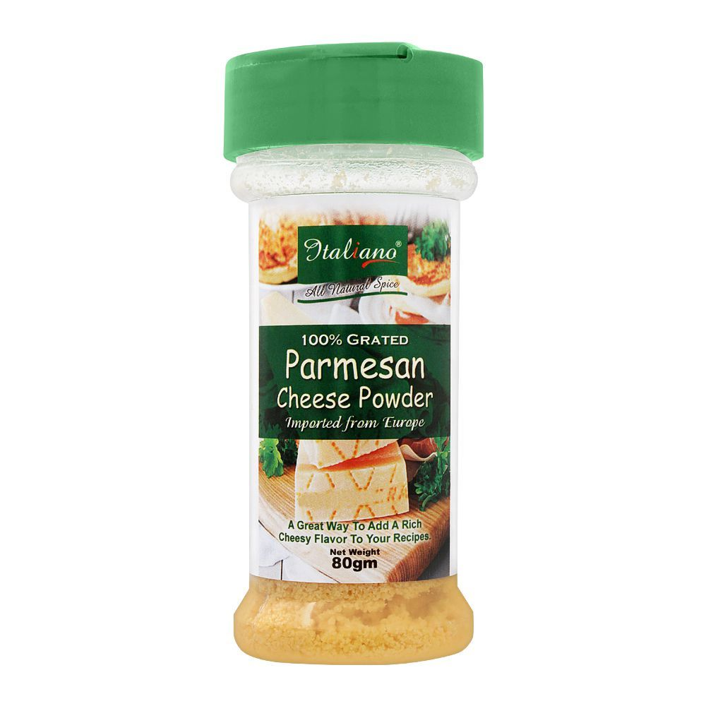 Italiano Parmesan Cheese Powder 80g - TAYYIB - Italiano - Lahore