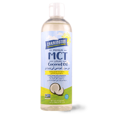 MCT Oil 354ml - TAYYIB - Carrington Farms - Lahore