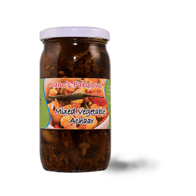 Nano's Mixed Vegetable Achar 350ml - TAYYIB - Nanos Fabulous - Lahore