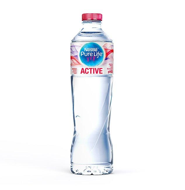 Nestle Water Active pH8 550ml - TAYYIB - Nestle - Lahore