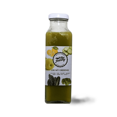Oh My Greens 300ml - TAYYIB - The Juicery - Lahore