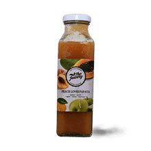 Load image into Gallery viewer, Peach Loves Papaya 300ml - TAYYIB - The Juicery - Lahore