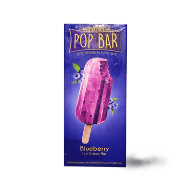 Pop Bar Blueberry Ice Cream - TAYYIB - Wholesome Foods - Lahore